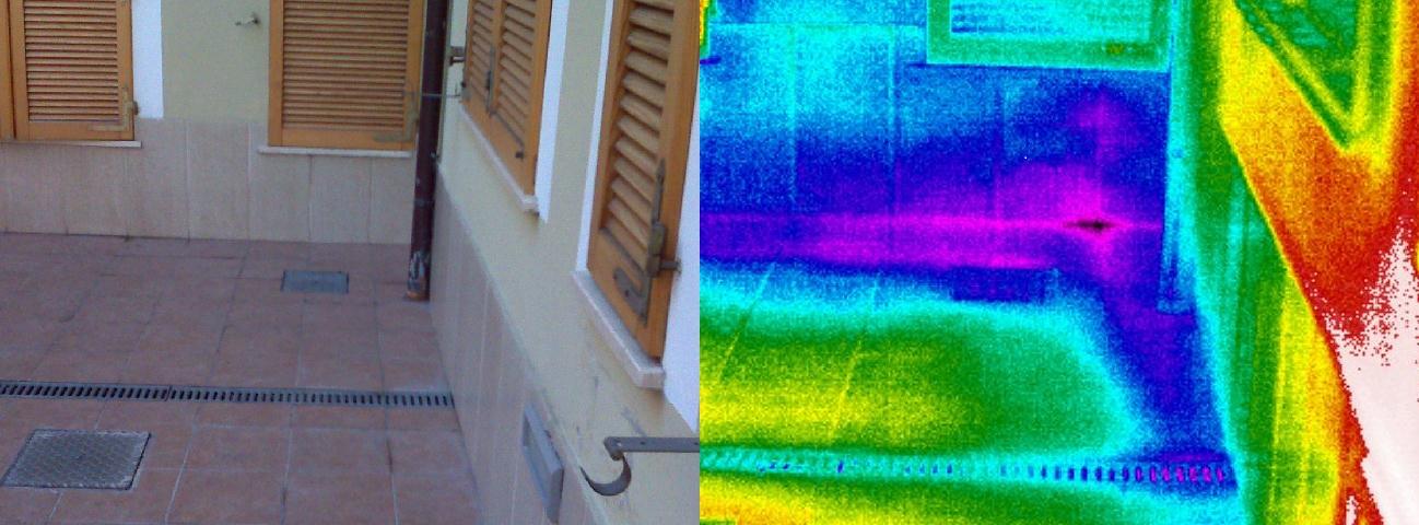 Termografia edile perizie controllo e visualizzazione - Risalita capillare ...